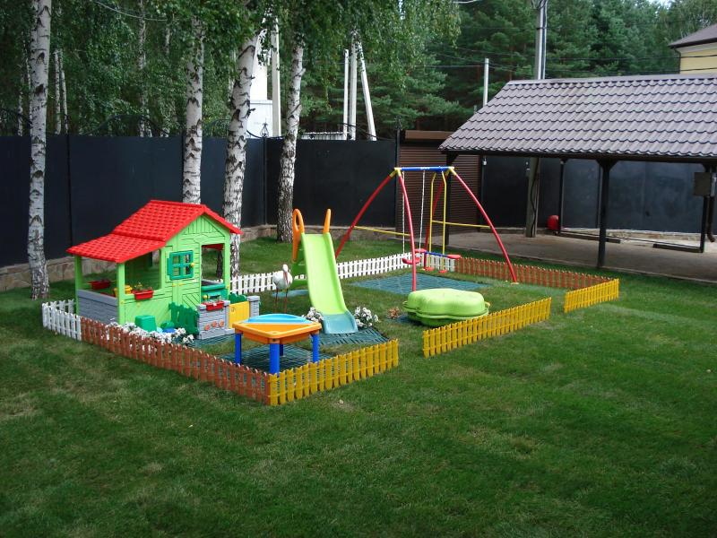 Сделать на даче своими руками детскую площадку